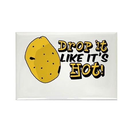 Drop it like it's hot! Rectangle Magnet (100 pack)