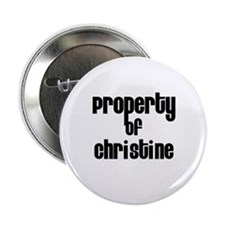 Property of Christine Button