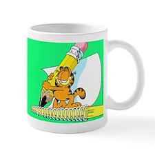 Garfield Writing Mug