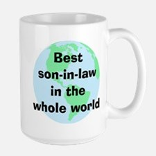 BW Son-in-law Mug