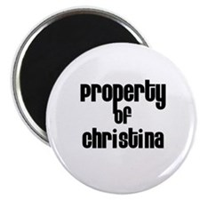 Property of Christina Magnet