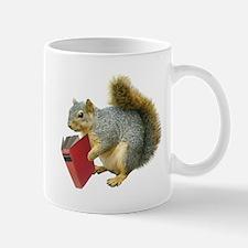 Squirrel with Book Mug