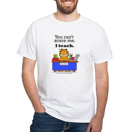 I Teach White T-Shirt