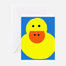 Duck teacher Greeting Card