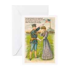 WWI Era Soldier Greeting Card