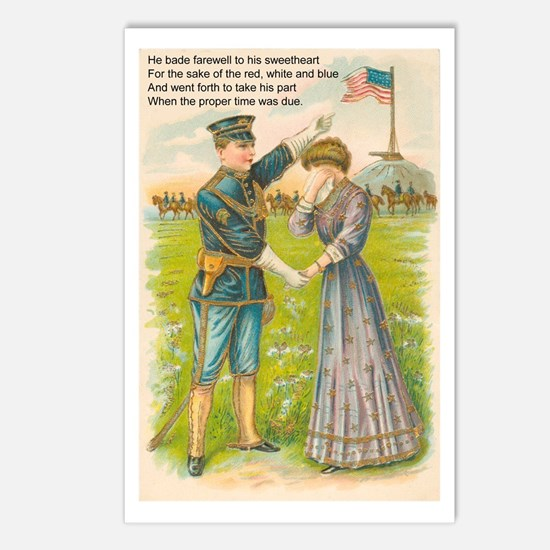 WWI Era Soldier Postcards (Package of 8)