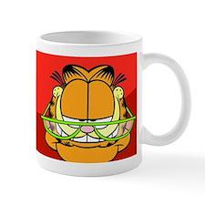 Pop Quiz Garfield Mug