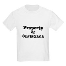 Property of Christiana Kids T-Shirt