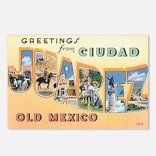 Ciudad Juárez Mexico Postcards (Package of 8)