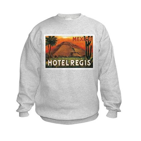 HOTEL REGIS MEXICO Kids Sweatshirt