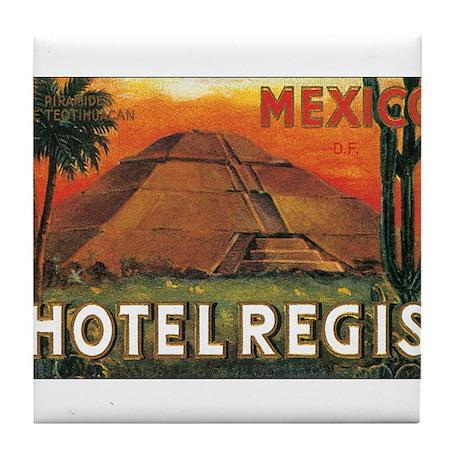 HOTEL REGIS MEXICO Tile Coaster