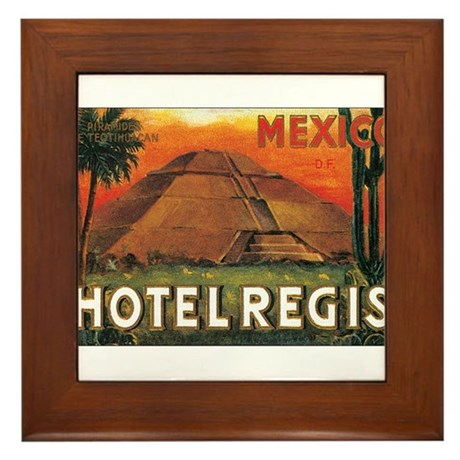 HOTEL REGIS MEXICO Framed Tile