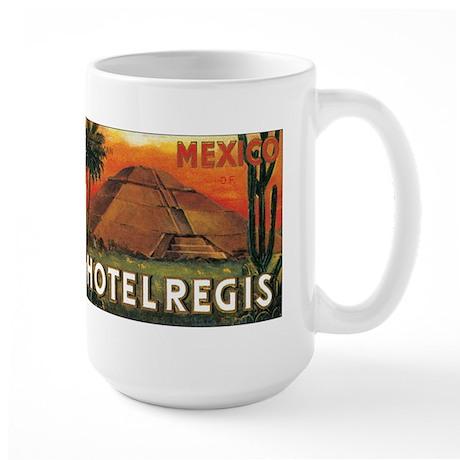 HOTEL REGIS MEXICO Large Mug