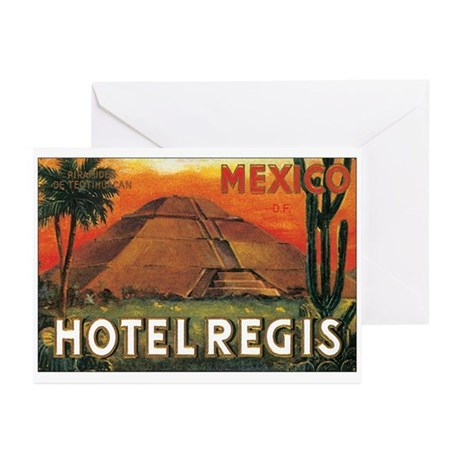 HOTEL REGIS MEXICO Greeting Cards (Pk of 20)