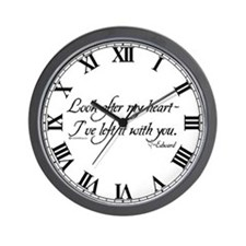 Look After My Heart Wall Clock