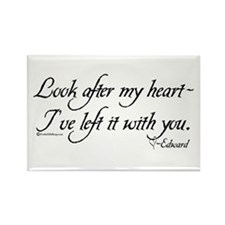Look After My Heart Rectangle Magnet