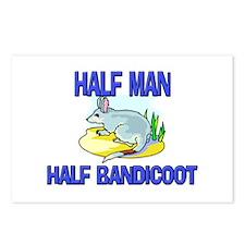 Half Man Half Bandicoot Postcards (Package of 8)