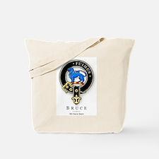 Clan Bruce Tote Bag