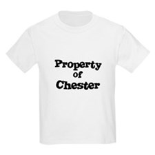 Property of Chester Kids T-Shirt