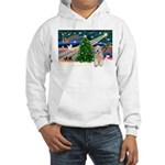 XmasMagic/Wheaten (#5) Hooded Sweatshirt