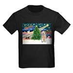 XmasMagic/Wheaten (#5) Kids Dark T-Shirt