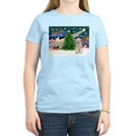 XmasMagic/Wheaten (#5) Women's Light T-Shirt