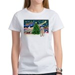 XmasMagic/Wheaten (#5) Women's T-Shirt