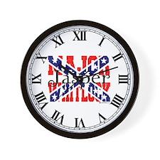 Major Jasper Wall Clock