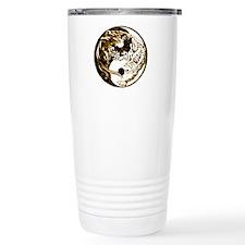 Yin Yang Cats 5 Travel Mug