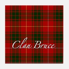Clan Bruce - Just Tartan Tile Coaster