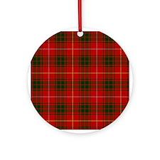 Clan Bruce - Just Tartan Ornament (Round)