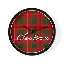 Clan Bruce - Just Tartan Wall Clock