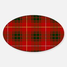 Clan Bruce - Just Tartan Oval Decal
