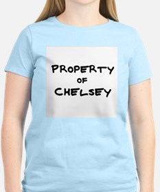 Property of Chelsey Women's Pink T-Shirt