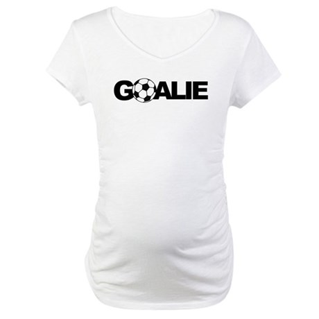 Goalie Maternity T-Shirt