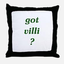 got villi? Throw Pillow