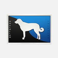 Anatolian Shepherd Dog Rectangle Magnet