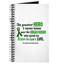 Hero I Never Knew 1 (Sister-In-Law) Journal