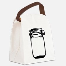 Jar Canvas Lunch Bag
