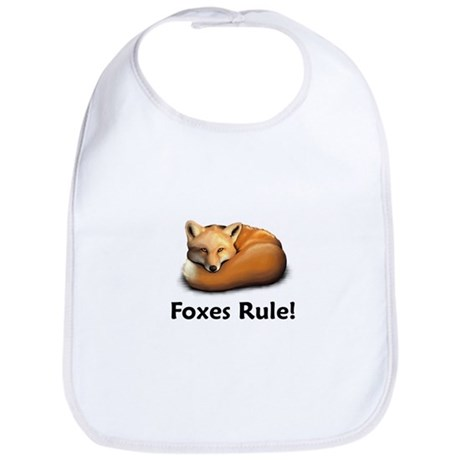 Foxes Rule! Bib