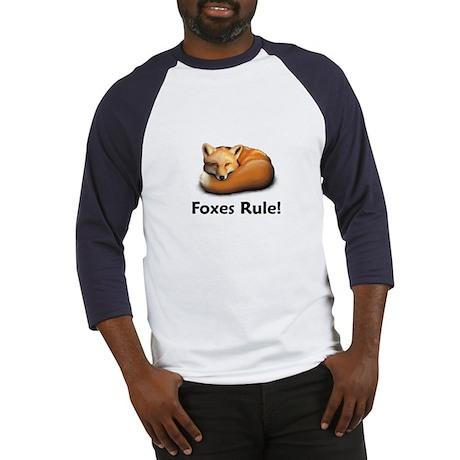 Foxes Rule! Baseball Jersey
