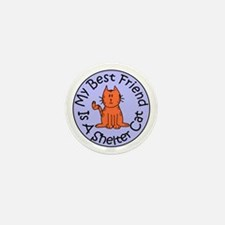 My Best Friend is a Shelter C Mini Button (10 pack