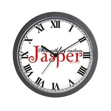 Mess With My Emotions Jasper Wall Clock
