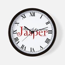 Mess With My Emotions Jasper Wall Clock