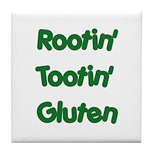 Rootin' Tootin' Gluten Tile Coaster