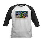 XmasMagic/Wheaten (#2) Kids Baseball Jersey