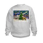 XmasMagic/Wheaten (#2) Kids Sweatshirt