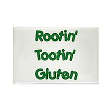 Rootin' Tootin' Gluten Rectangle Magnet (10 pack)