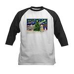 XmasMagic/Wheaten (#10) Kids Baseball Jersey