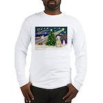 XmasMagic/Wheaten (#10) Long Sleeve T-Shirt